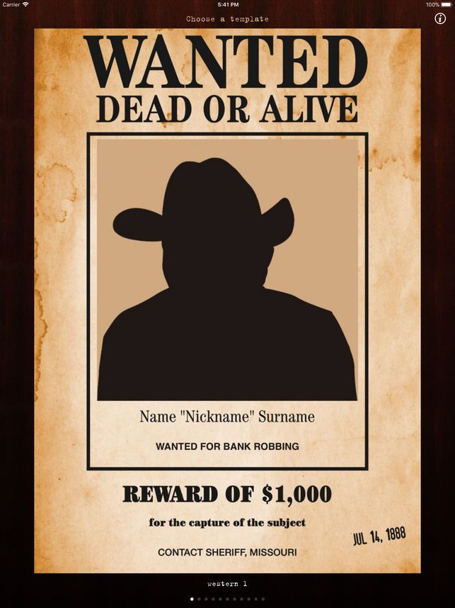 create wanted poster online wanted poster pro on the app store