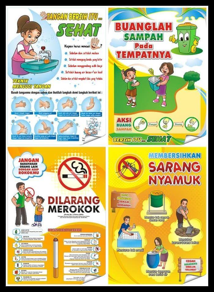 Poster Demam Berdarah Penting Jual Harga Promo Poster Kesehatan Dki Jakarta Ldr Store Id