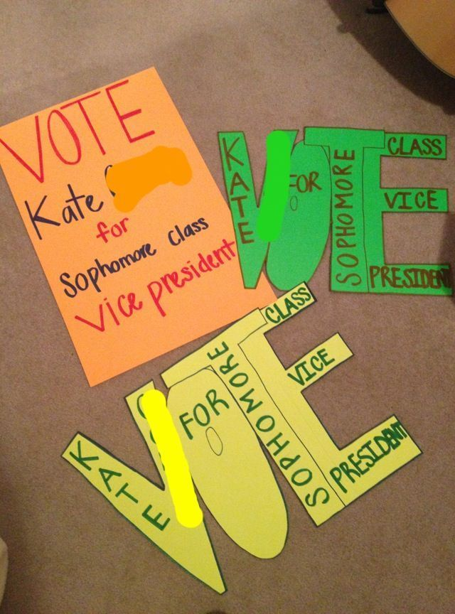 class election poster posters pinterest vice president posters design ideas
