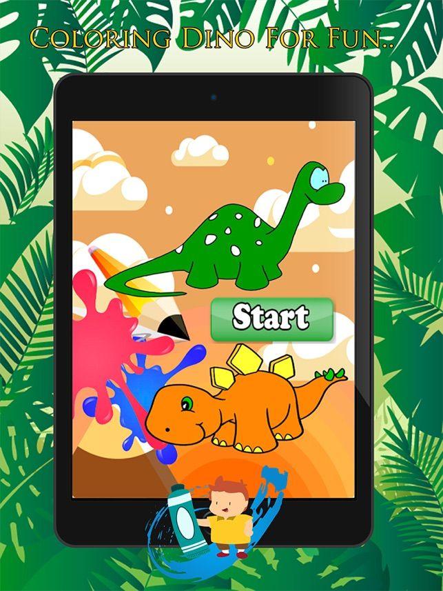 cute dino cat dan coloring book learning skill fun permainan percuma untuk kanak kanak di app store