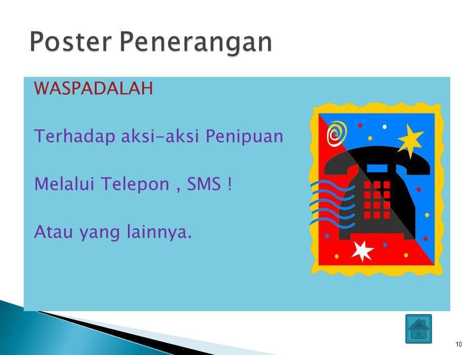 poster pendidikan smp menarik pelajaran bahasa indonesia ppt download