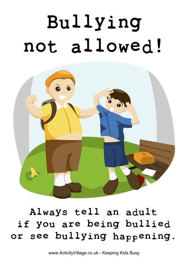 Senarai Terbesar Poster Stop Bullying Yang Menarik Dan Boleh Di Cetakkan Dengan Segera Skoloh