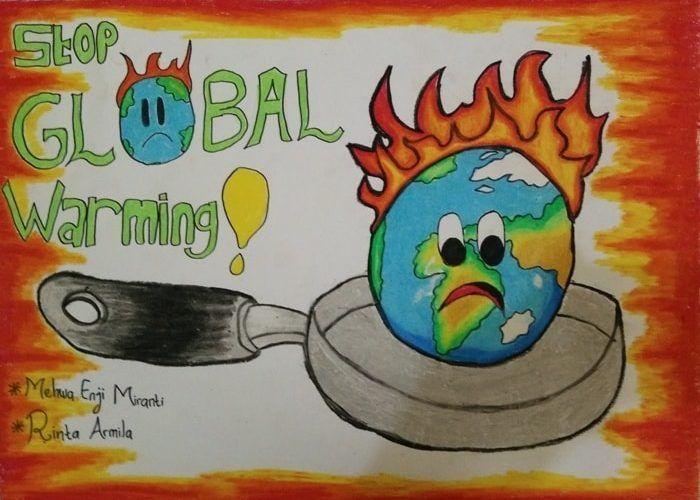 Himpunan Poster Tentang Pemanasan Global Yang Hebat Dan Boleh Di Download Dengan Segera Skoloh