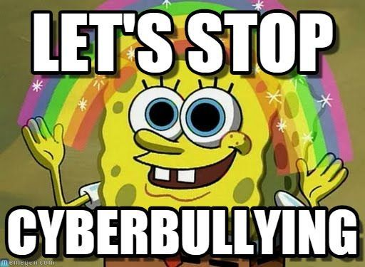 anti bullying meme spongebob google search stand up