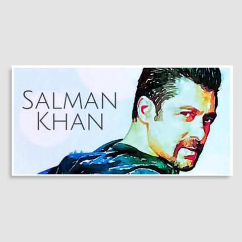 salman khan door poster artist delusion
