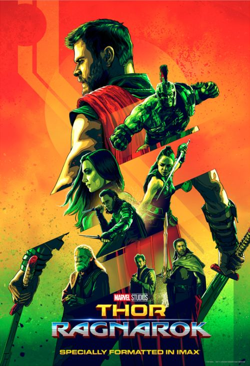 thor ragnarok imax poster released director taika waititi not concerned with fitting into the larger mcu