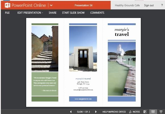 free e brochure templates beautiful travel brochure maker templates for powerpoint
